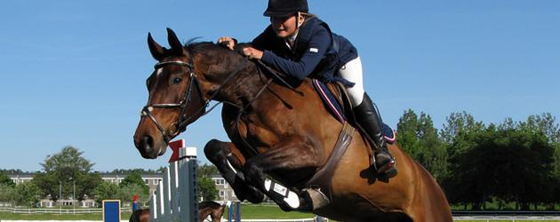 Скоковия седеж при езда