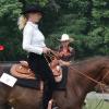 Контрол на скоростта на коня при уестърн езда