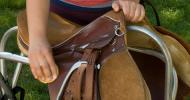 Поддръжка на седлото за езда