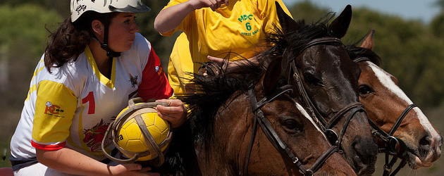Конна топка (Horseball)