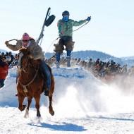 конен скиджоринг - езда и ски