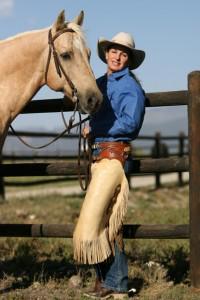 с нов кон на езда сред природата