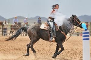 стрелба по време на езда