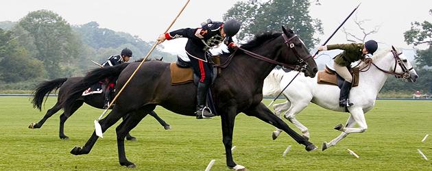Tent Pegging – конен спорт от древността