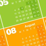 Календар с почивните дни през 2015